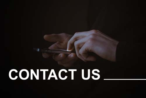 Get in touch with us.